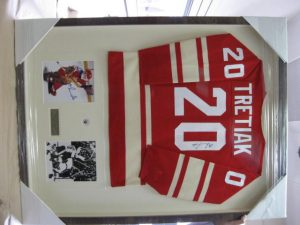 Down To Earth Art Gallery - Hockey Jersey